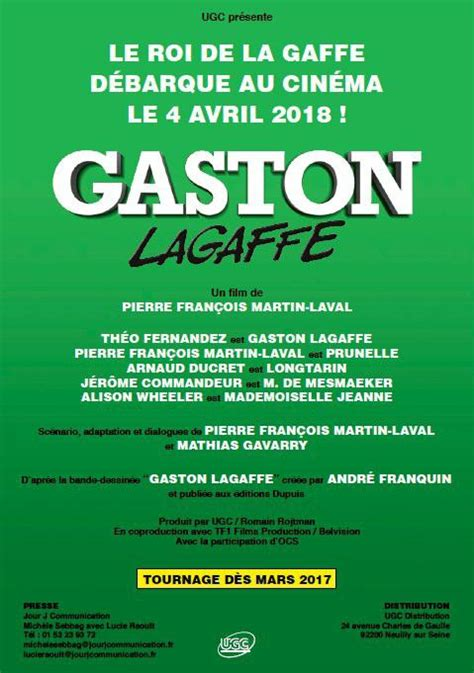 Gaston Lagaffe – long métrage