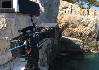 tournage calanques