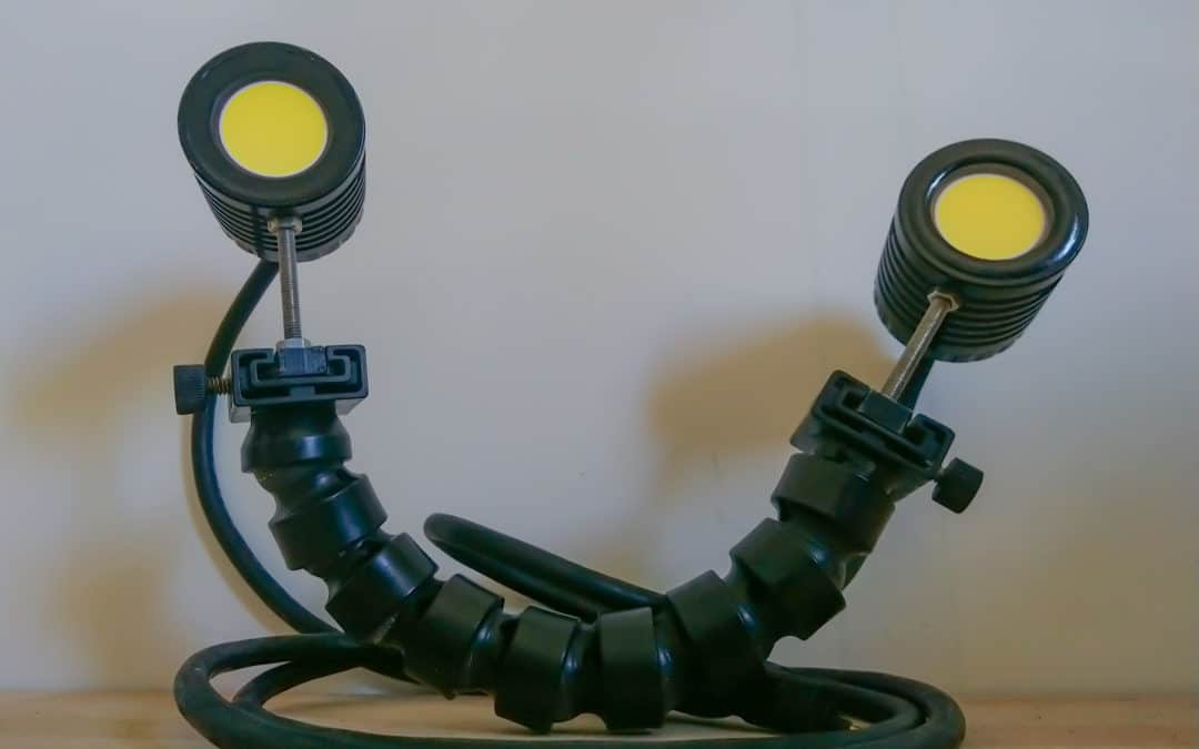 RENT Portable lighting source Euclia 30 Klumens