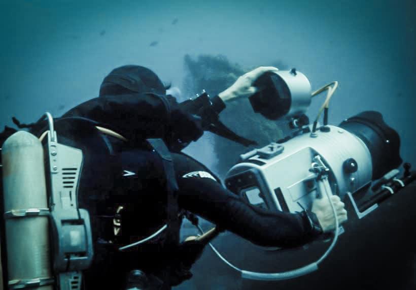 Formation opérateur de prise de vue sous-marine
